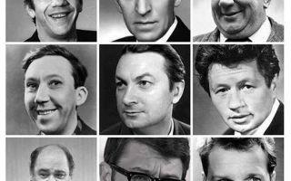 Комедийные актеры СССР