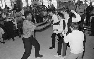 Мохаммед Али против Битлз, 1964 год Уникальные фото