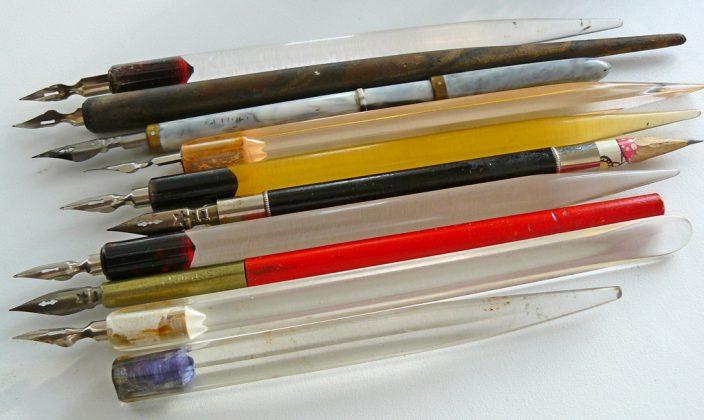 Перьевые ручки