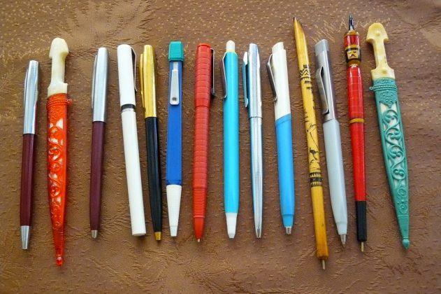школьные ручки