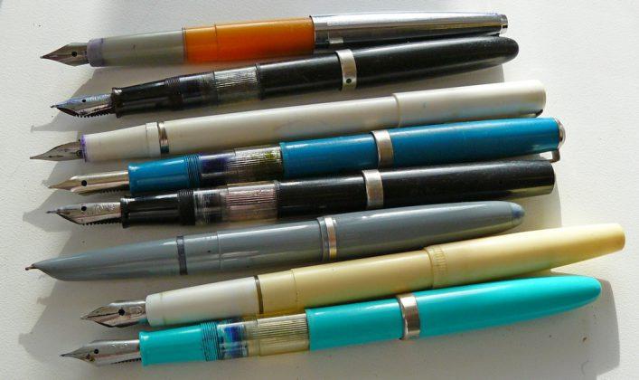 Чернильные ручки