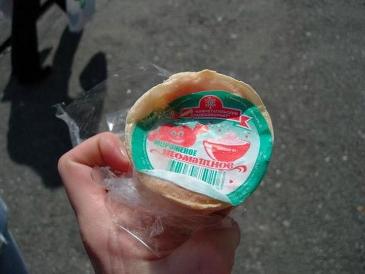Мороженное Томатное