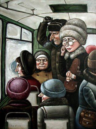 СССР Ностальгия В автобусе
