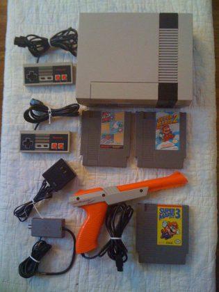 Игровая приставка Super Nintendo