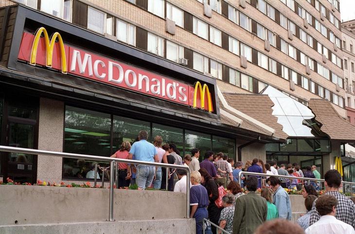 Москва McDonalds