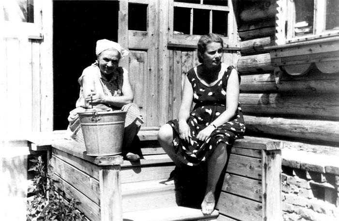 Летние каникулы у бабушки в деревне