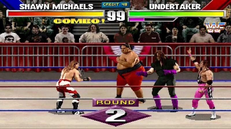WWF Wrestlemania Arcade sega, детство, ностальгия