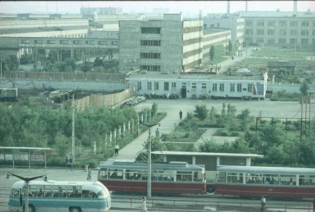 Город Волжский, Волжский шинный завод, 1966 год: СССР, факты