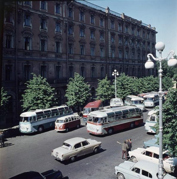 Ленинград, Гостиница «Европейская», 1960е: СССР, факты