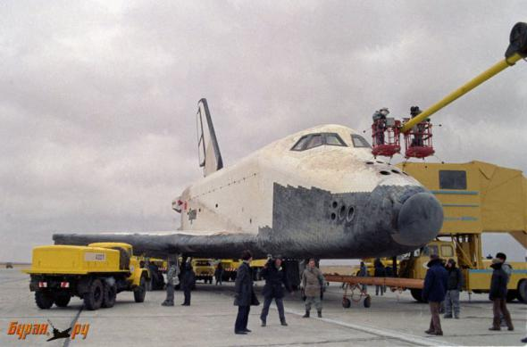 Полет «Бурана» - как это было