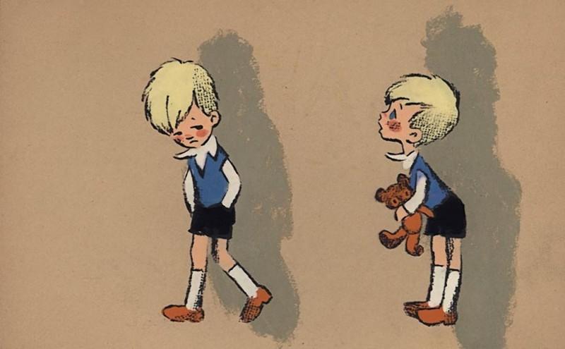 Малыш и Карлсон СССР, ностальгия, союзмультфильм, эскиз