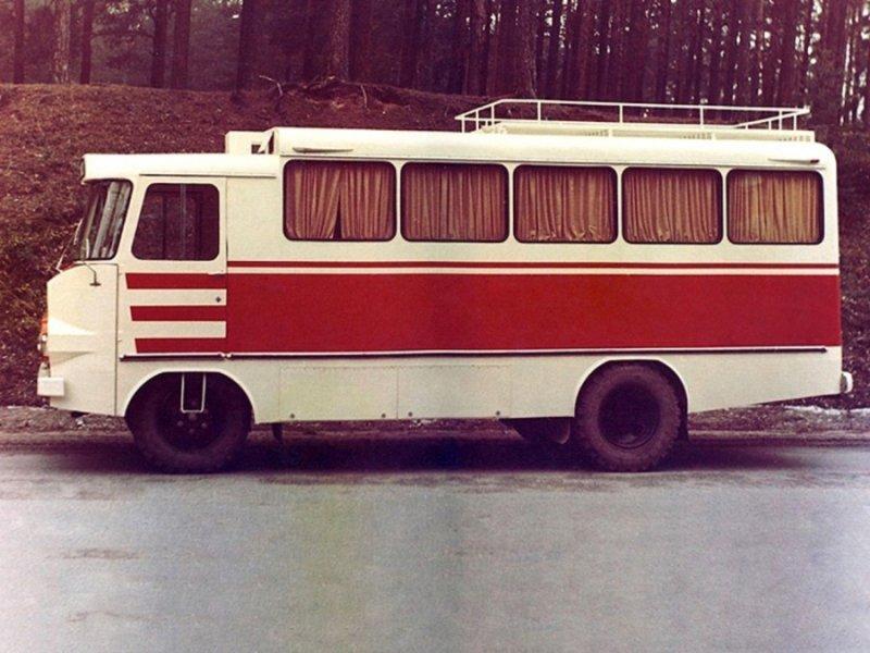Автобус-мастерская обслуживания населения ТА-942Т СССР, Служба Быта, авто