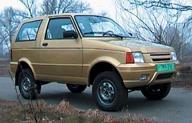 ЛуАЗ 1301 СССР, концепт, концепт-кар, прототип