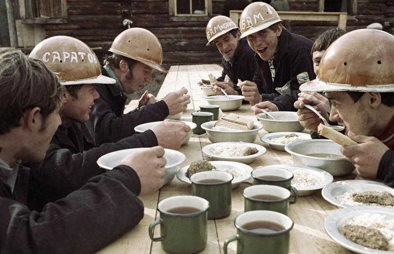Обед на строительстве БАМа, 1970-е СССР, история, факты