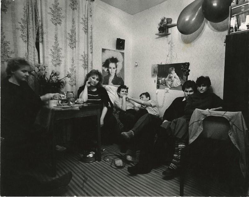 СССР 80-х 80-е, СССР, черно-белая фотография