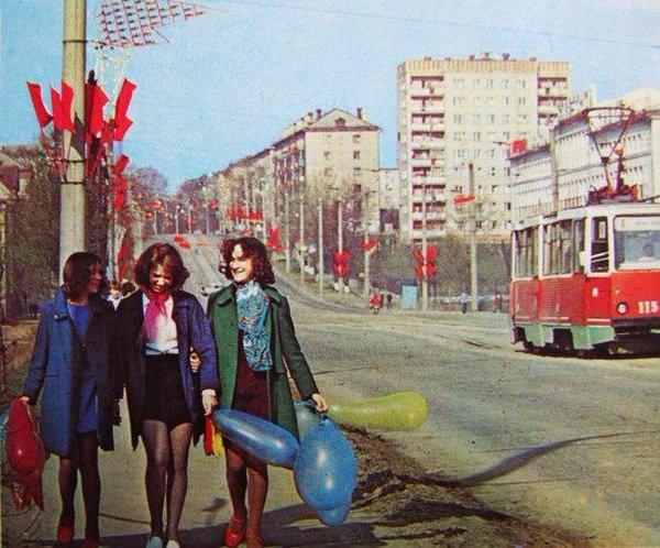 Иваново, 1 мая 1980 Моменты из прошлого, СССР, детство, ностальгия, подборка