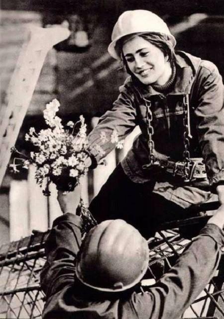Цветы в разгар рабочего дня Моменты из прошлого, СССР, детство, ностальгия, подборка
