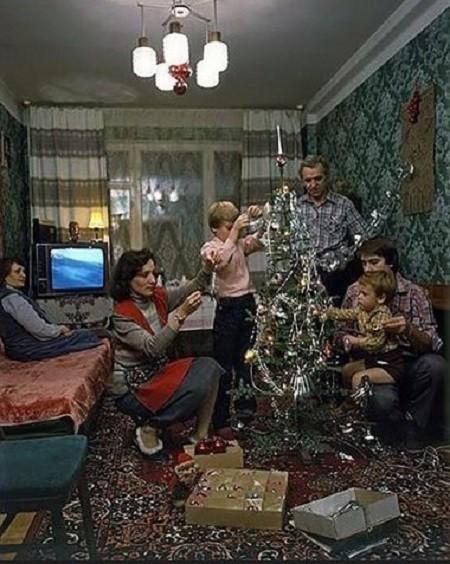 Подготовка к встрече Нового года 1986 года! Моменты из прошлого, СССР, детство, ностальгия, подборка