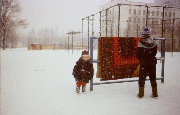 С первым снегом Моменты из прошлого, СССР, детство, ностальгия, подборка