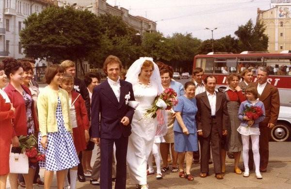 Советская свадьба Моменты из прошлого, СССР, детство, ностальгия, подборка
